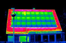 Thermografiebild Photovoltaik, Copyright: SWS