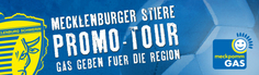 Promotion-Tour der Mecklenburger Stiere, Copyright: mmde